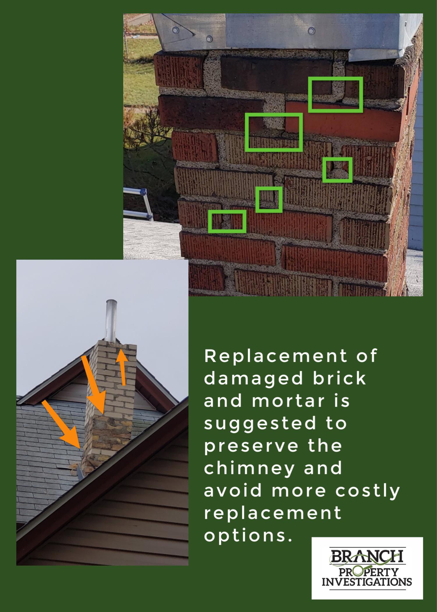 chimney brick and mortar