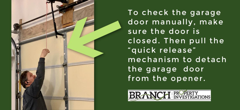 garage door balance