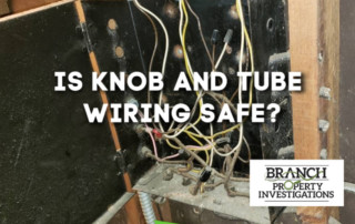 knob and tube wiring