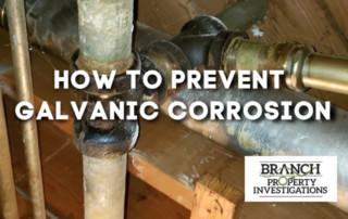 prevent galvanic corrosion