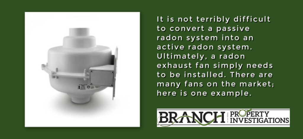 radon fan