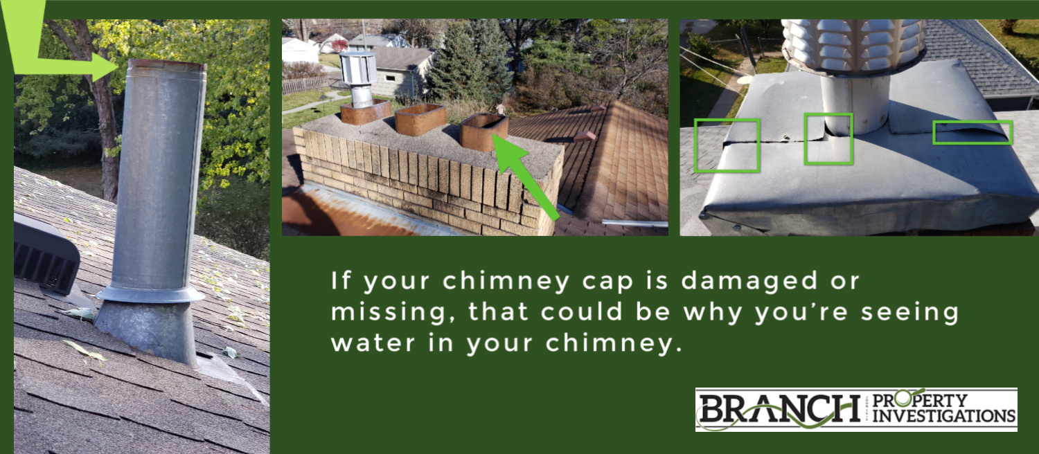 chimney rain cap missing
