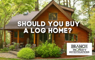 buying a log home