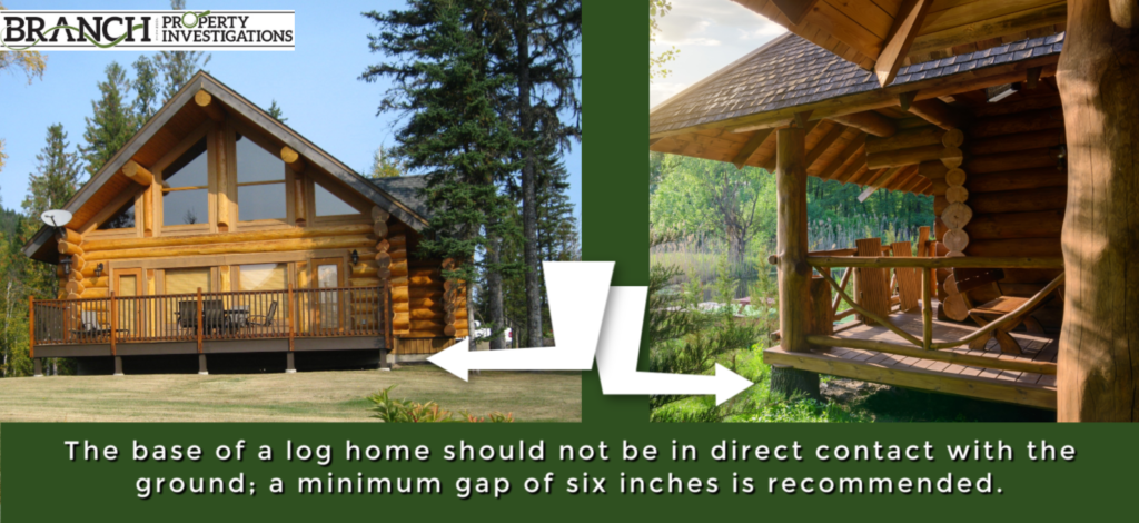 log home foundation