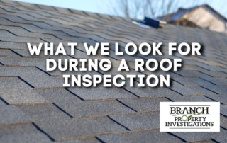 roof defects