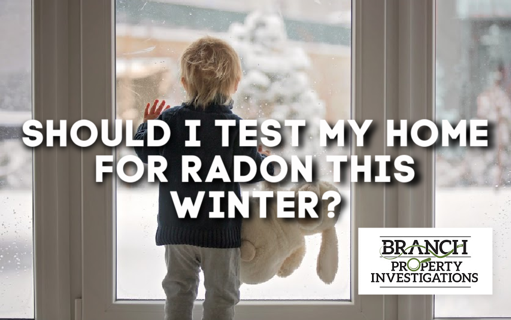 radon testing in winter