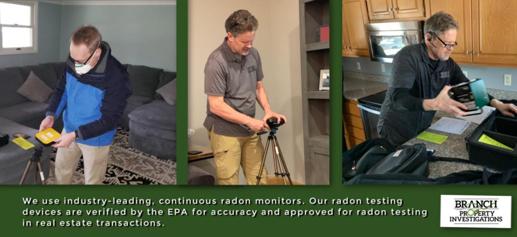 testing for radon