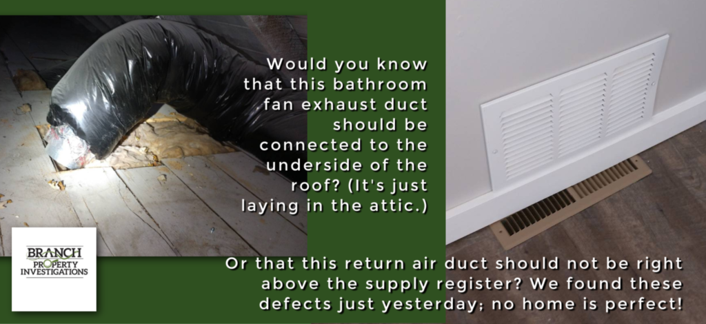 home inspection defect