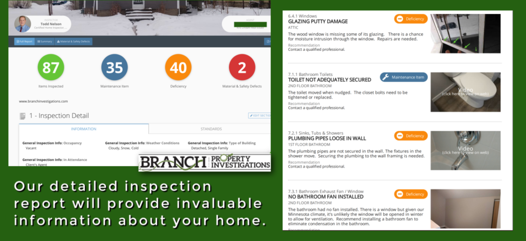 best home inspection report